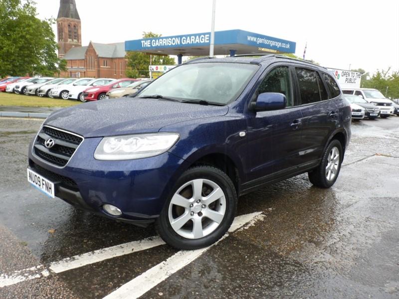 used Hyundai Santa Fe CRTD CDX in hampshire-and-surrey