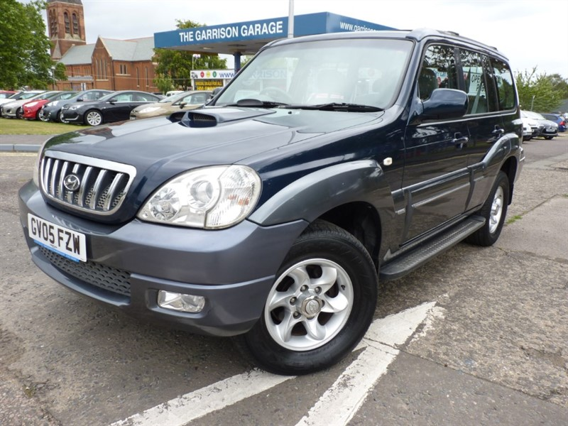 used Hyundai Terracan CRTD CDX in hampshire-and-surrey