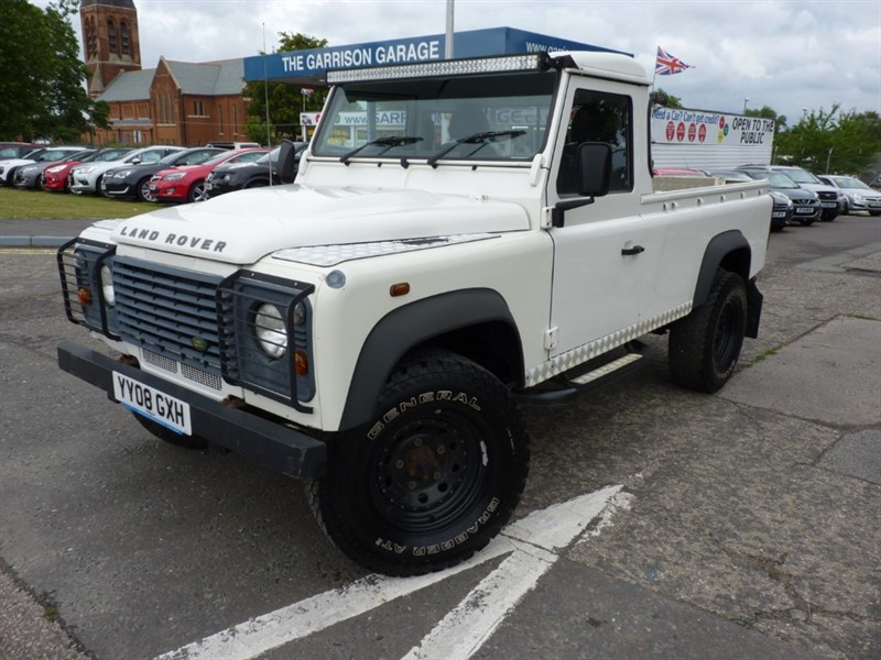 used Land Rover Defender SINGLE CAB P/U LWB in hampshire-and-surrey