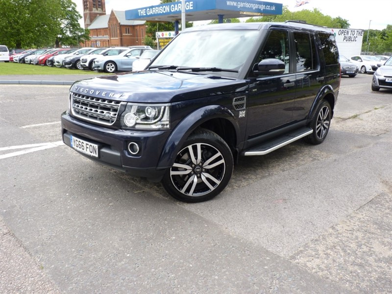 used Land Rover Discovery COMMERCIAL SE in hampshire-and-surrey