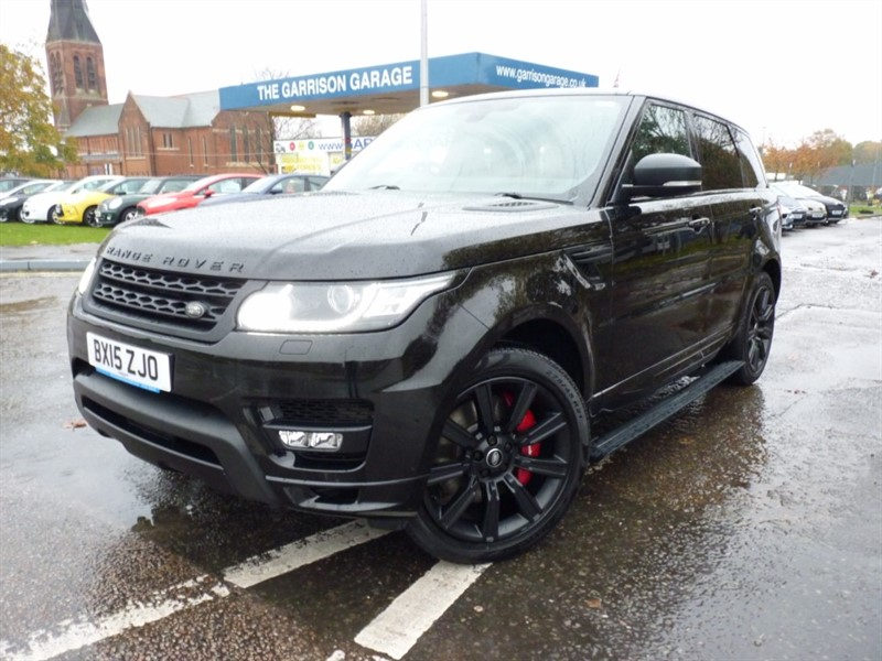 used Land Rover Range Rover Sport SDV6 AUTOBIOGRAPHY DYNAMIC in hampshire-and-surrey