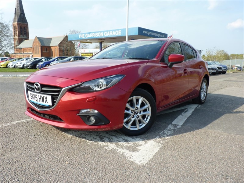used Mazda Mazda3 D SE-L NAV in hampshire-and-surrey