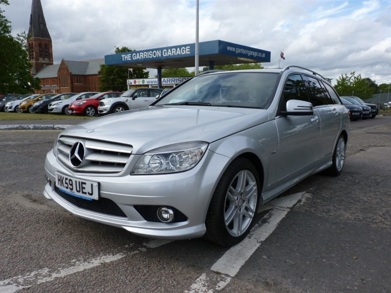 used Mercedes C180 KOMPRESSOR BLUEEFFICIENCY SPORT in hampshire-and-surrey