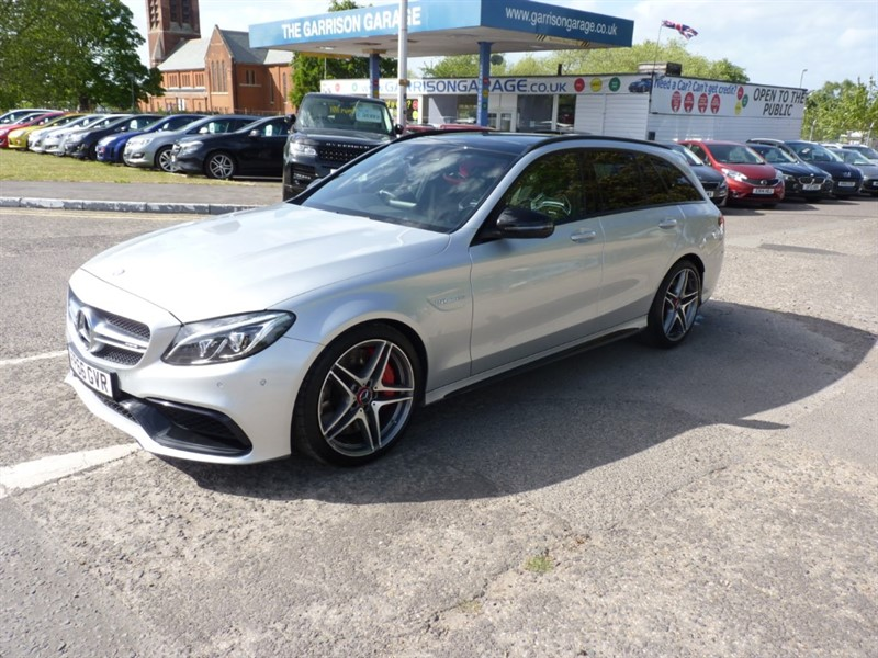 used Mercedes C63 AMG AMG C 63 S PREMIUM in hampshire-and-surrey