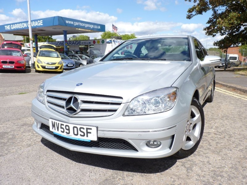 used Mercedes CLC220 CDI SE in hampshire-and-surrey