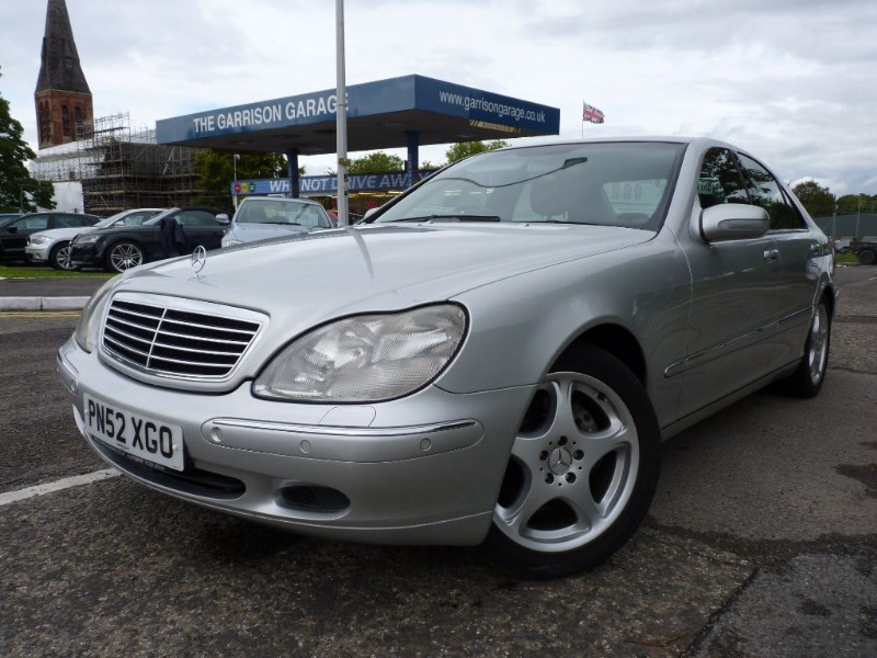 used Mercedes S320 CDI in hampshire-and-surrey