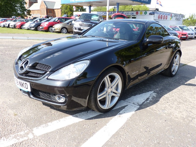 used Mercedes SLK200 SLK 200 KOMPRESSOR in hampshire-and-surrey