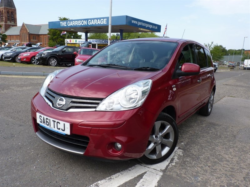 used Nissan Note N-TEC in hampshire-and-surrey