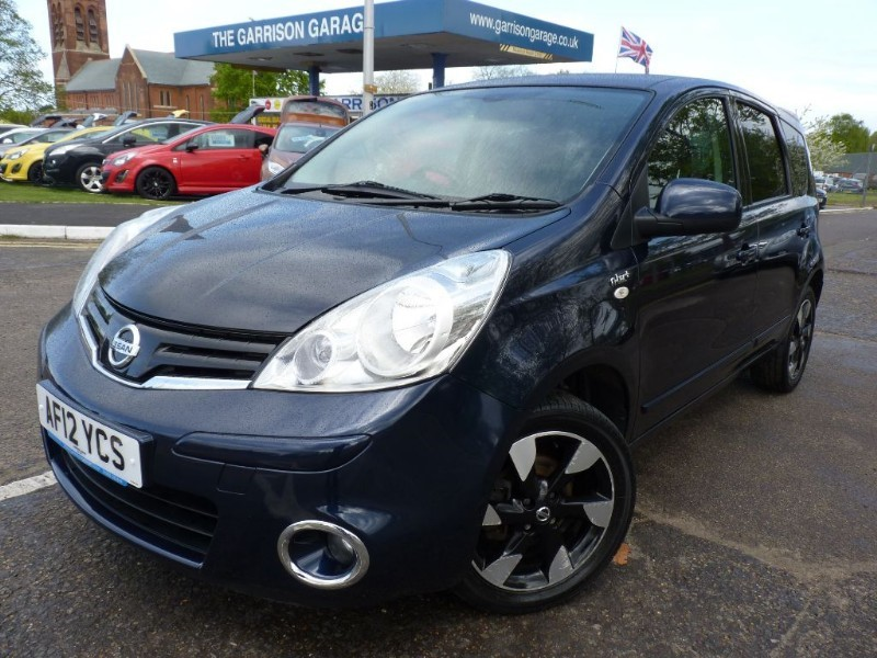 used Nissan Note N-TEC PLUS in hampshire-and-surrey