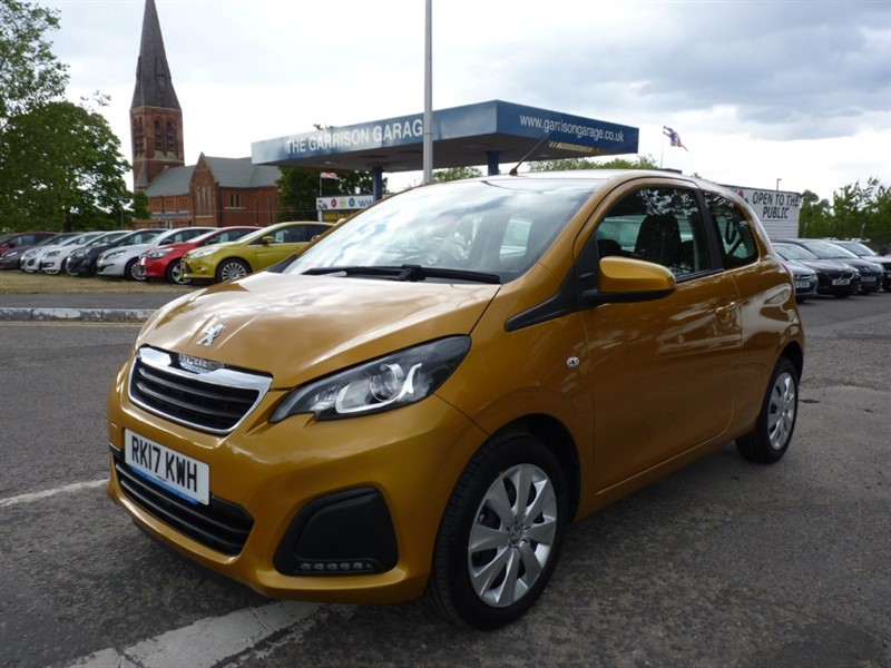 used Peugeot 108 ACTIVE in hampshire-and-surrey