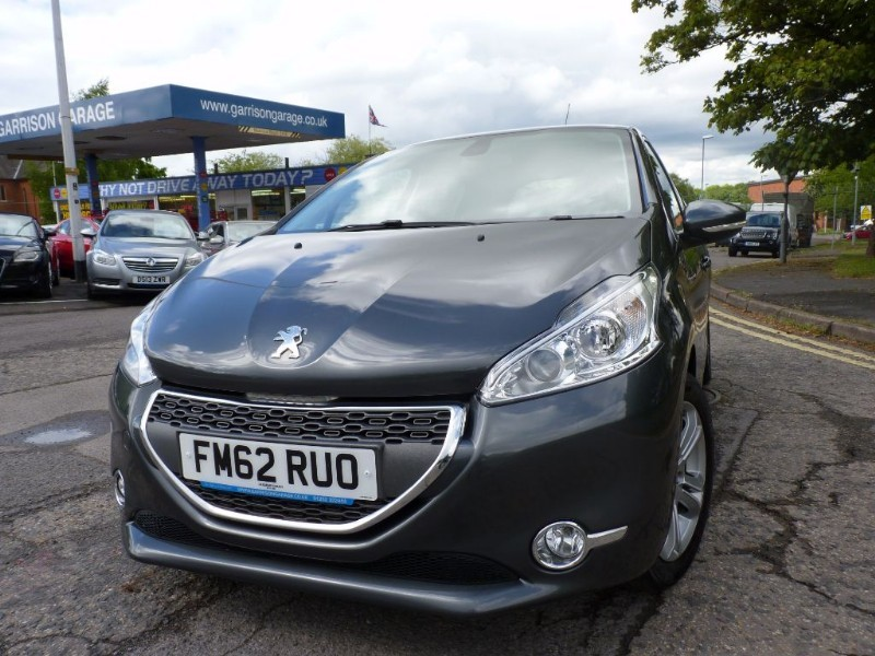 used grey peugeot 208 for sale | hampshire