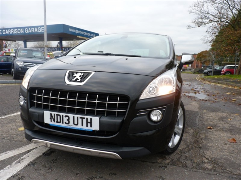 used Peugeot 3008 HDI ALLURE in hampshire-and-surrey