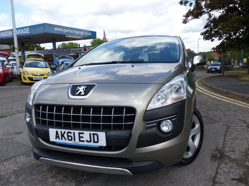 used Peugeot 3008 EXCLUSIVE HDI in hampshire-and-surrey