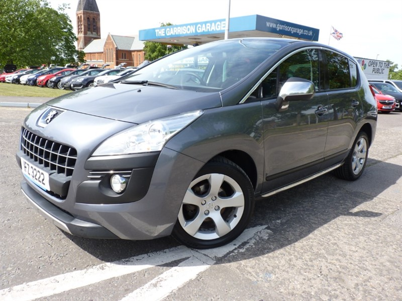 used Peugeot 3008 E-HDI EXCLUSIVE in hampshire-and-surrey