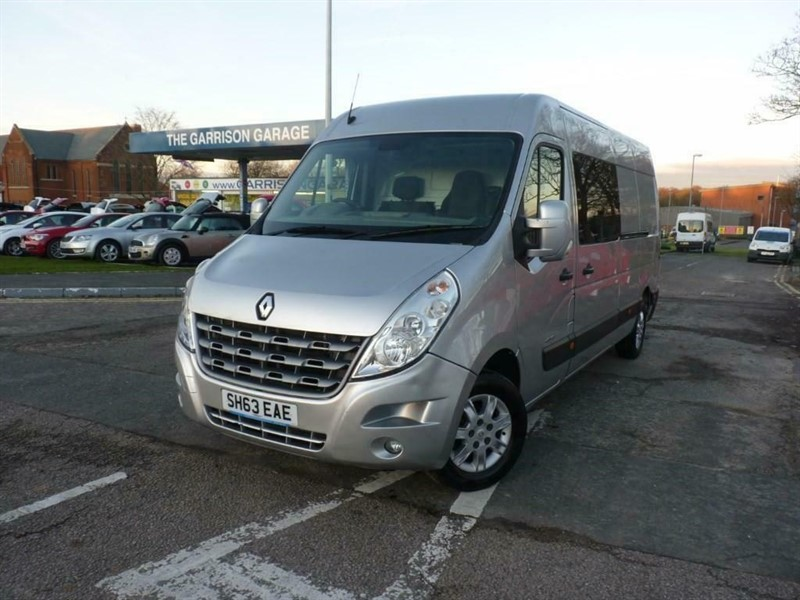 used Renault Master LM35 SPORT DCI S/R P/V in hampshire-and-surrey