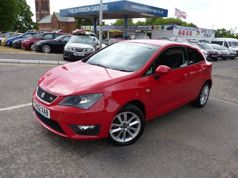 used SEAT Ibiza TSI FR in hampshire-and-surrey
