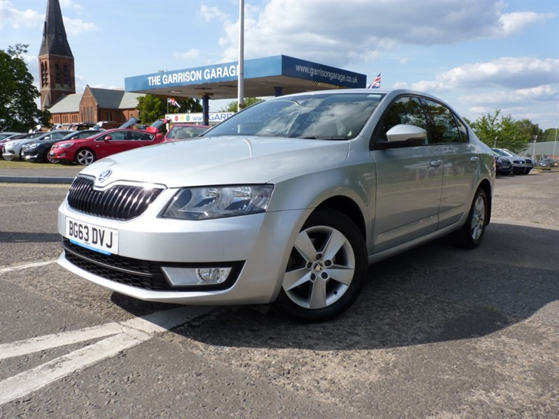 used Skoda Octavia SE TDI CR DSG in hampshire-and-surrey