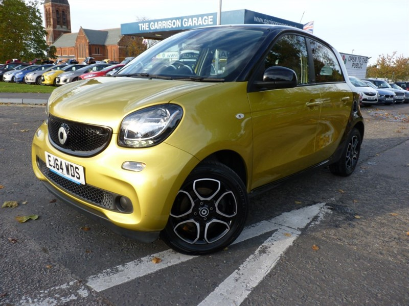 used Smart Car Forfour PRIME PREMIUM in hampshire-and-surrey