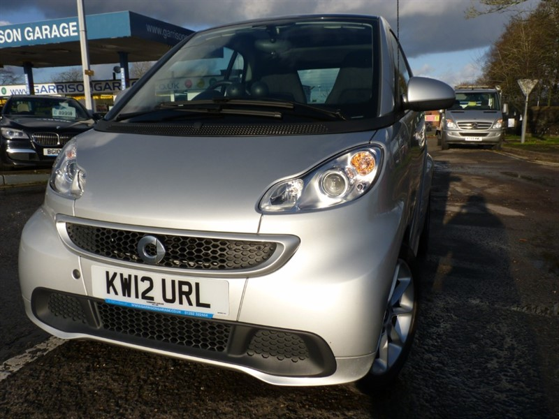 used Smart Car Fortwo Coupe PASSION MHD in hampshire-and-surrey