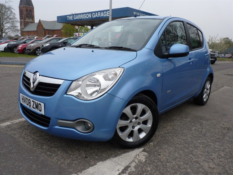 used Vauxhall Agila DESIGN in hampshire-and-surrey