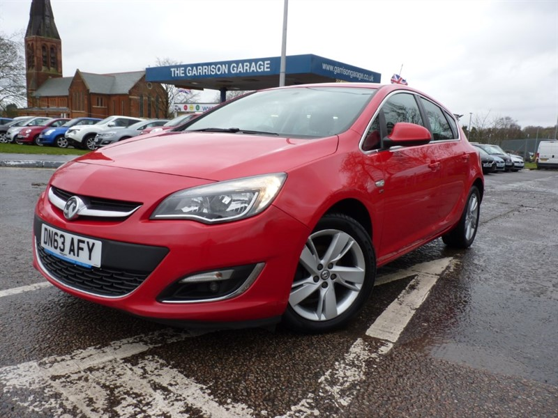 used Vauxhall Astra SRI in hampshire-and-surrey