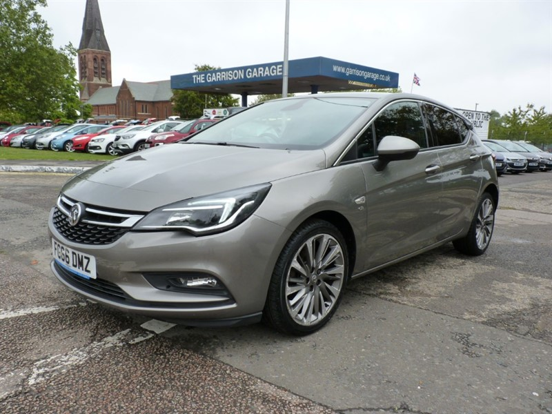 used Vauxhall Astra ELITE NAV CDTI S/S in hampshire-and-surrey