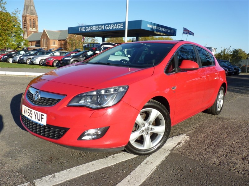 used Vauxhall Astra SRI CDTI in hampshire-and-surrey