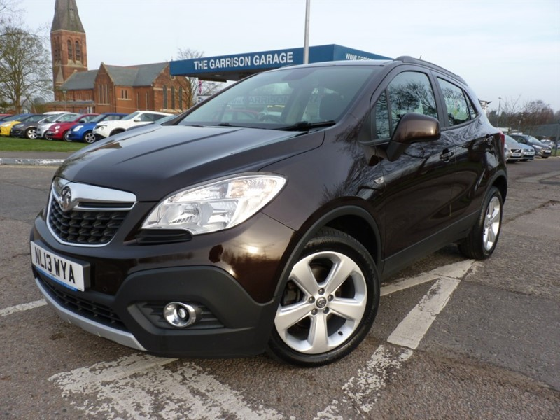 used Vauxhall Mokka EXCLUSIV CDTI S/S in hampshire-and-surrey