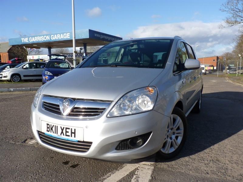 used Vauxhall Zafira DESIGN CDTI in hampshire-and-surrey