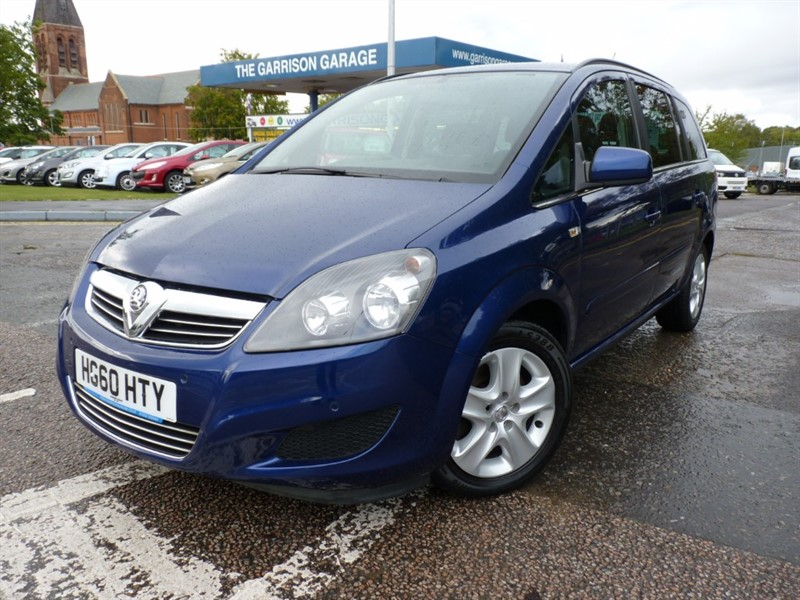 used Vauxhall Zafira EXCLUSIV CDTI ECOFLEX in hampshire-and-surrey