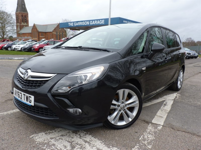 used Vauxhall Zafira Tourer SRI CDTI in hampshire-and-surrey