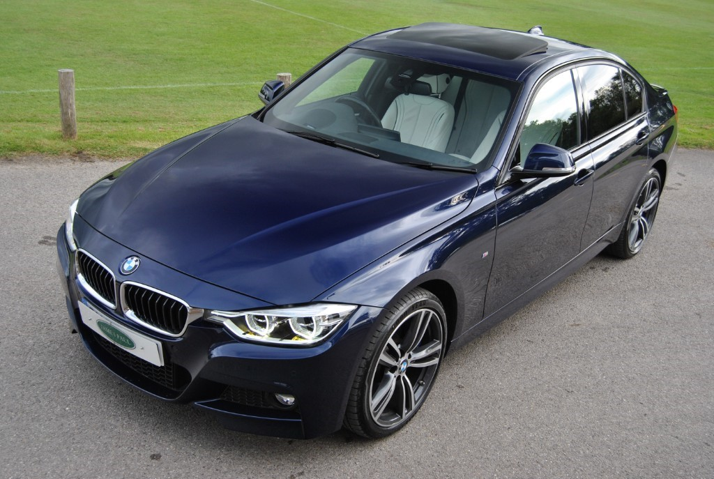 Bmw 335d For Sale >> Used Tanzanite Blue Metallic Bmw 335d For Sale West Sussex