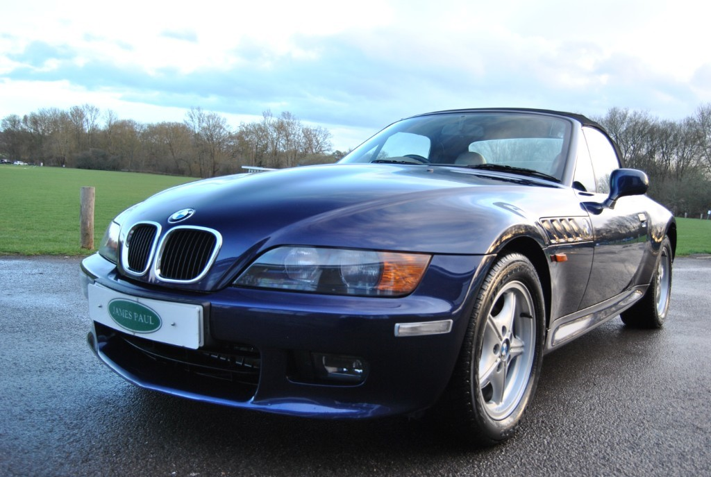 Used Montreal Blue Metalic Bmw Z3 For Sale West Sussex