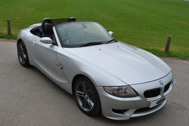 Used Titan Silver BMW Z4 M for Sale | West Sussex