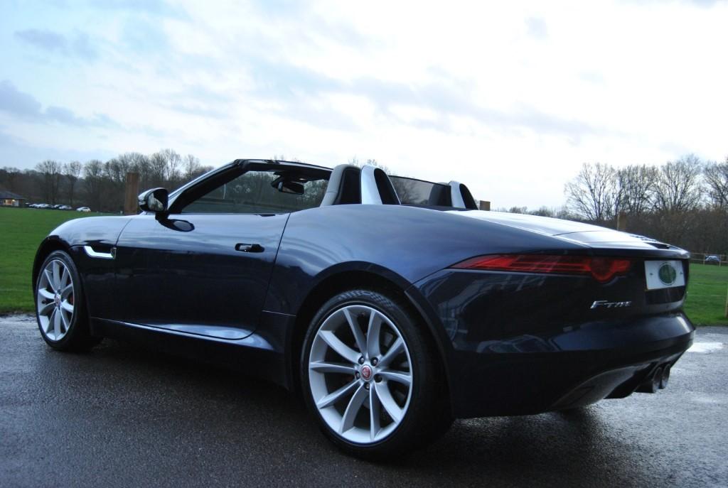 Used Dark Sapphire Jaguar F-Type for Sale | West Sussex