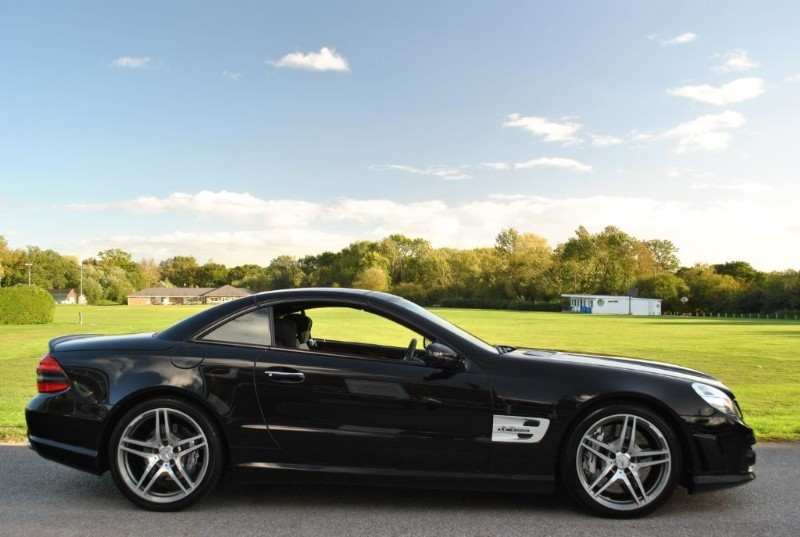 Used Obsidian Black Mercedes Sl For Sale West Sussex