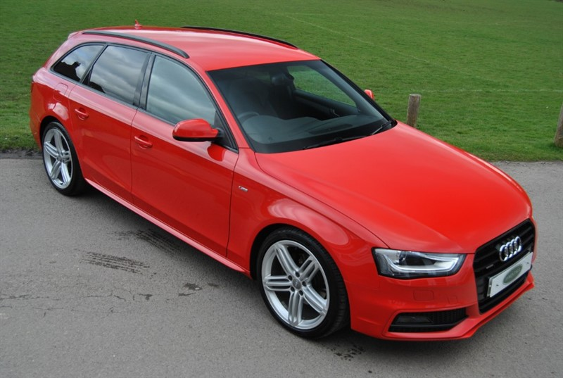 used Audi A4 Avant QUATTRO S LINE 2016 M/Y- 190 PS in west-sussex-surrey