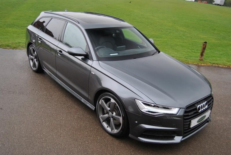 used Audi A6 Avant AVANT 3.0 TDI QUATTRO S LINE BLACK EDITION in west-sussex-surrey