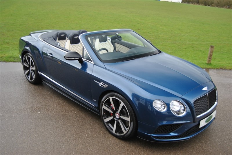 used Bentley Continental GT V8 S Mulliner Driving Spec in west-sussex-surrey