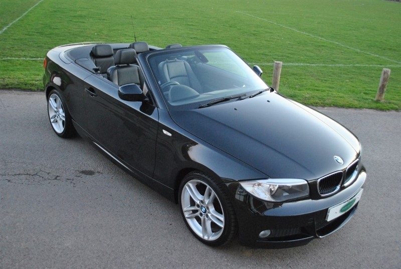 used BMW 118d M Sport Convertible in west-sussex-surrey