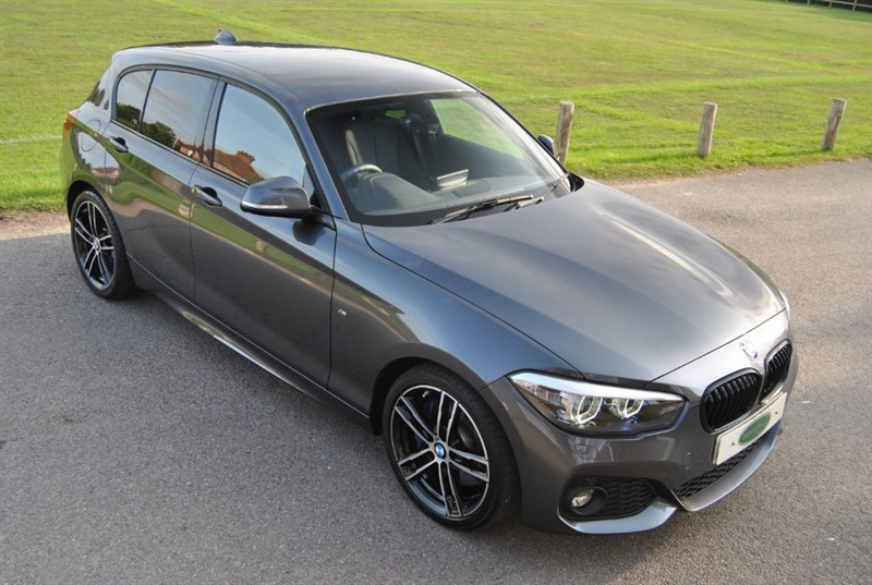used BMW 118i M SPORT SHADOW EDITION in west-sussex-surrey