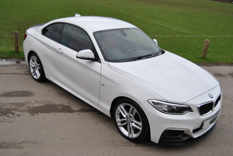 used BMW 220d M Sport Coupe - Twin Power Turbo in west-sussex-surrey