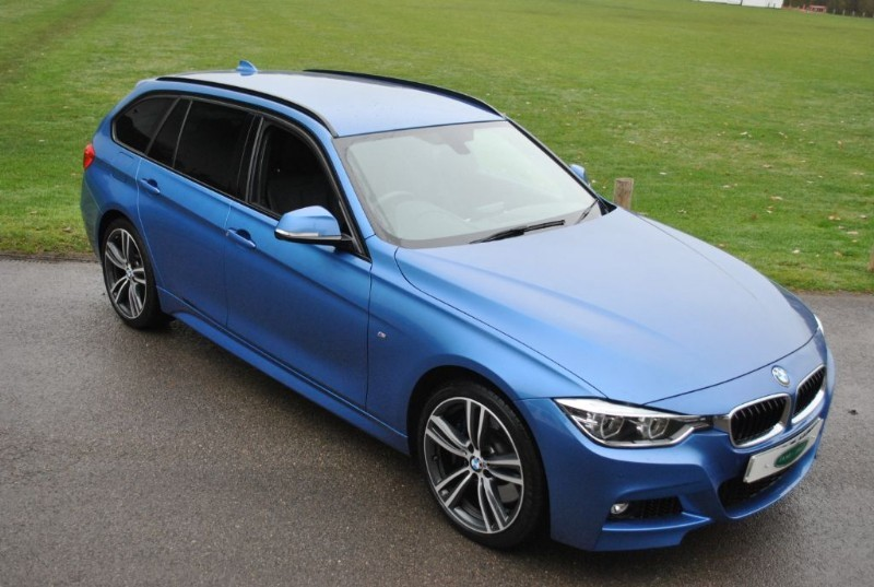 used BMW 335d XDRIVE M SPORT TOURING 2016 MODEL in west-sussex-surrey