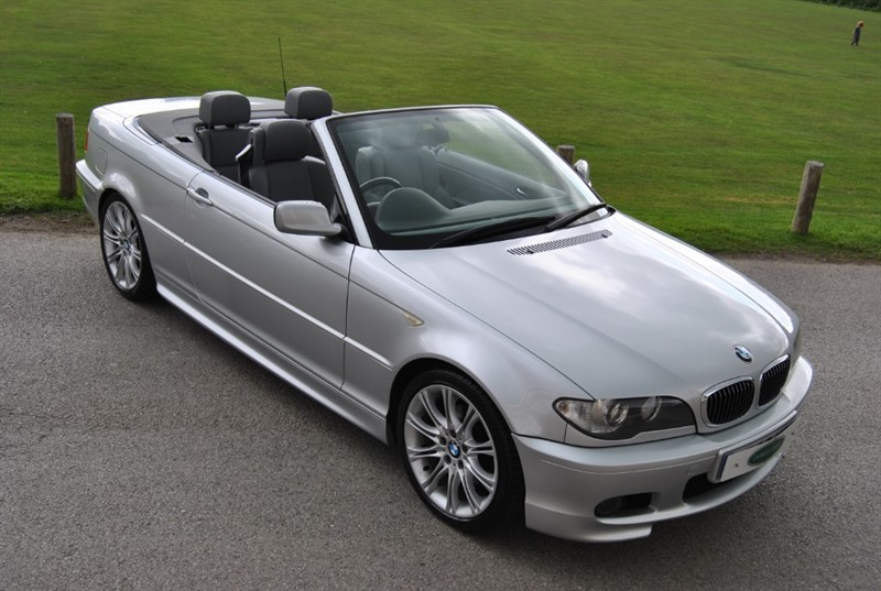 used BMW 320 Ci M Sport Convertible - Facelift Model in west-sussex-surrey
