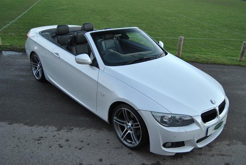used BMW 320d M Sport Auto Convertible in west-sussex-surrey