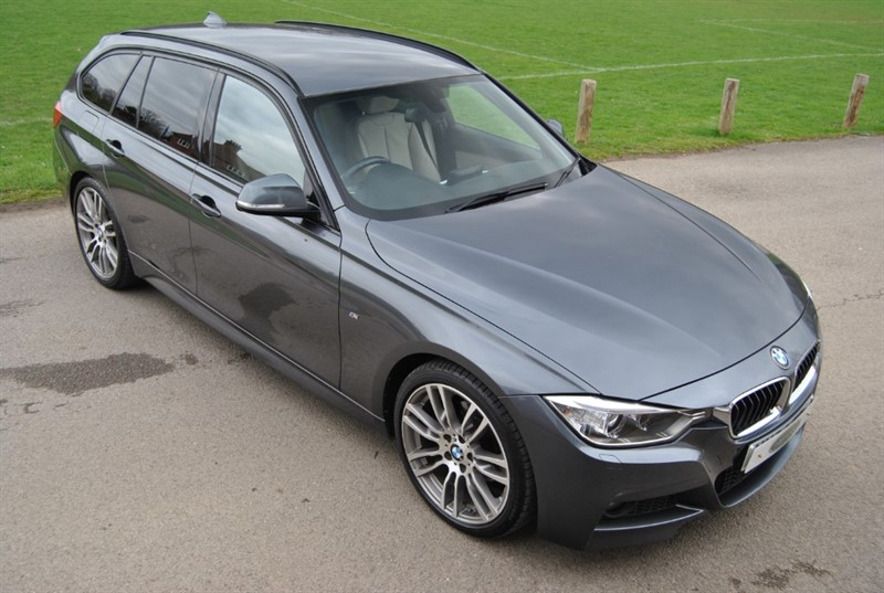 used BMW 320d M SPORT TOURING - 2015 M/Y in west-sussex-surrey