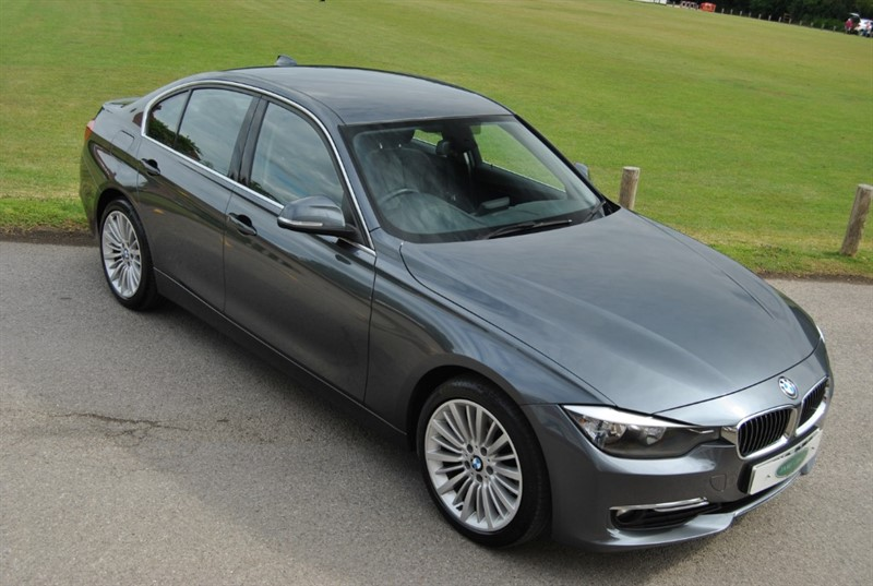 used BMW 320d LUXURY in west-sussex-surrey