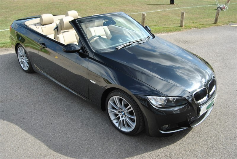 used BMW 320i M SPORT CONVERTIBLE in west-sussex-surrey