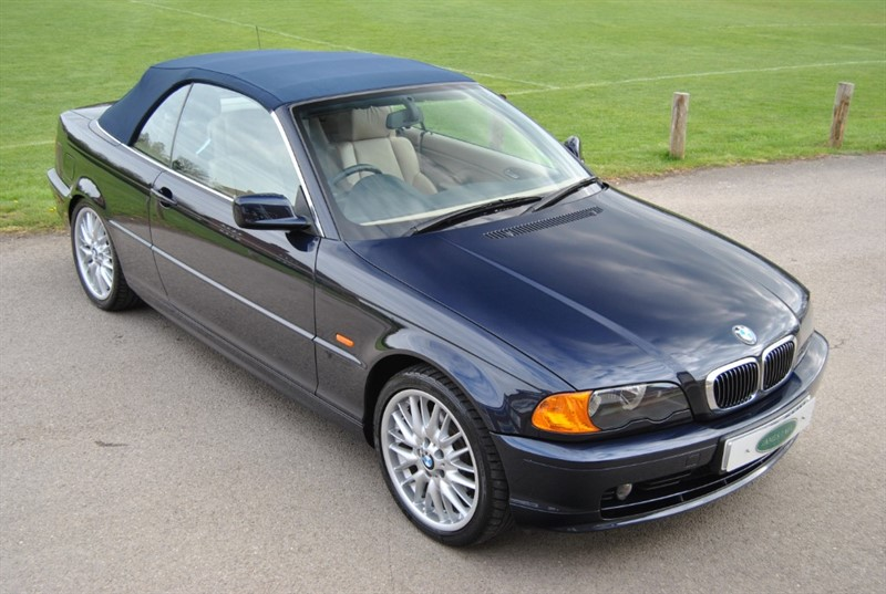 used BMW 323 CI Convertible in west-sussex-surrey