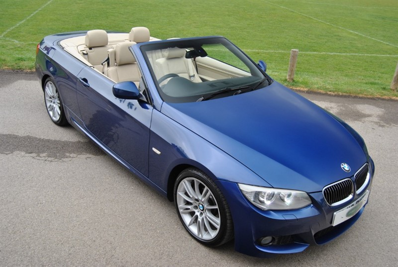 used BMW 325d M Sport Convertible in west-sussex-surrey